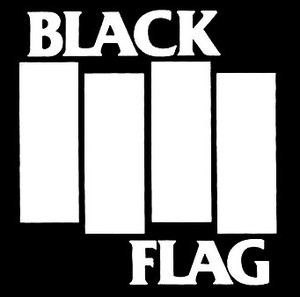 "Black Flag - Logo 4x4"" Printed Patch"