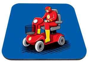 """Power Scooter Flash 9x7"""" Mousepad"""