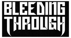 "Bleeding Through - Logo 5x4"" Printed Patch"