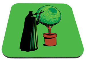 "Gardener Darth Vader 9x7"" Mousepad"