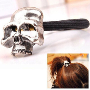 Chrome Skull Hairband