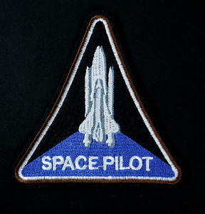 "Space Pilot 4x4"" Embroidered Patch"