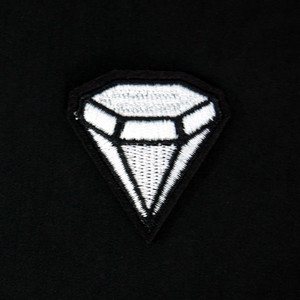 "Diamond 1.5"" Embroidered Patch"