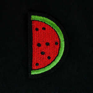 "Fruit - Watermelon 2.5"" Embroidered Patch"