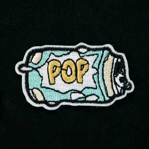 "Food - Soda Pop Can 2x1"" Embroidered Patch"