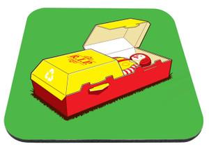 "R.I.P. Ronald McDonald 9x7"" Mousepad"