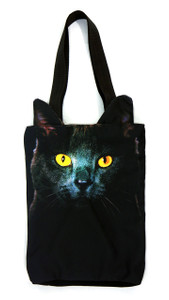 Go Rocker - Black Cat Shoulder Bag