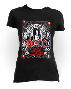 AC/DC - In Concert Blouse One Size T-Shirt
