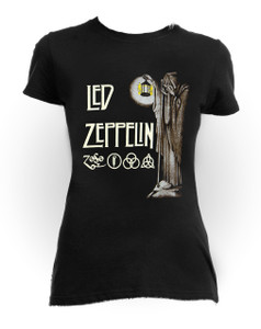 Led Zeppelin - Stairway to Heaven One Size Women's T-Shirt