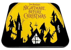 "Nightmare Before Christmas - Rooftops 9x7"" Mousepad"