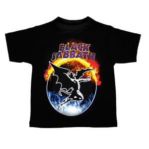 Kid's Ravka T-Shirt - Black Sabbath - Demon