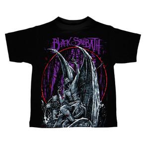 Kid's Ravka T-Shirt - Black Sabbath - Gargoyle