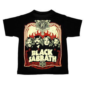 Kid's Ravka T-Shirt - Black Sabbath - Poster