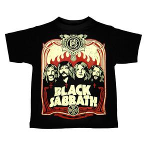 Kid's T-Shirt - Black Sabbath - Poster