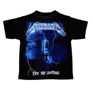Kid's Ravka T-Shirt - Metallica - Ride the Lightning