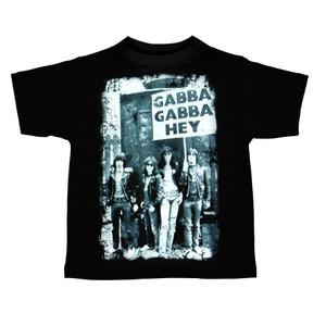 Kid's Ravka T-Shirt - The Ramones - Gabba Gabba Hey