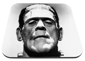 "Frankenstein 9x7"" Mousepad"