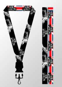 Lanyard - Sex Pistols - UK Flag & Cid