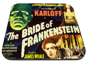 "The Bride of Frankenstein 9x7"" Mousepad"