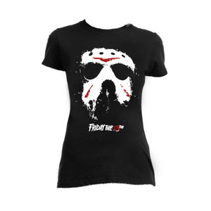 Friday the 13th - Jason Hockey Mask Blouse T-Shirt