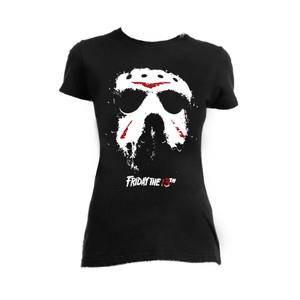 Friday the 13th - Jason Hockey Mask Blouse T-Shirt