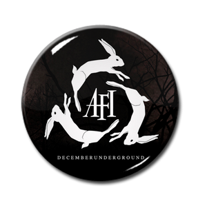 "AFI - December Underground 1"" Pin"