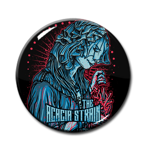 "The Acacia Strain - Stabbing Heart 1"" Pin"