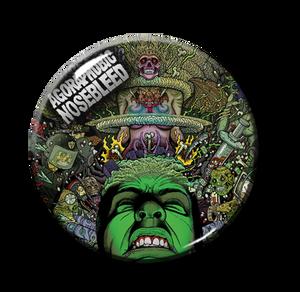 """Agoraphobic Nosebleed - Agorapocalypse Now 1"""" Pin"""