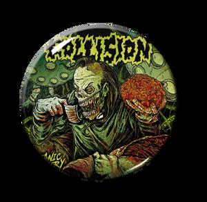"Collision - Satanic Surgery 1"" Pin"