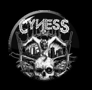 "Cyness - Full Logo 1"" Pin"