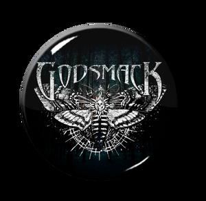 "Godsmack - Moth 1"" Pin"