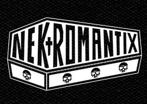 "Nekromantix - Logo 6x4"" Printed Patch"