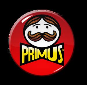"""Primus Pringles Logo 1"""" Pin"""