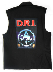 """Go Rocker - D.R.I - Crossover 13.5"""" x 10.5"""" Color Backpatch"""