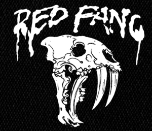 "Red Fang - Skull 5x5"" Printed Patch"