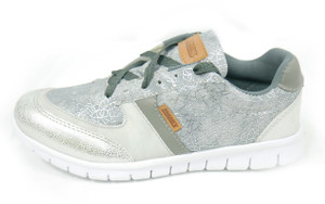 Panam - White and Grey Crosstrainer Unisex Sneaker