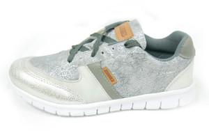 Panam - White and Grey Crosstrainer Unisex Sneaker