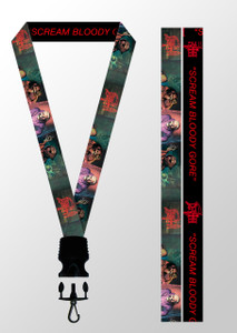Lanyard - Death - Scream Bloody Gore