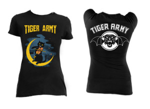 Tiger Army - Violin Cat Blouse T-Shirt