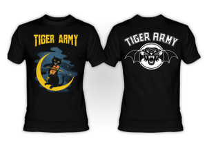 Tiger Army - Violin Cat T-Shirt