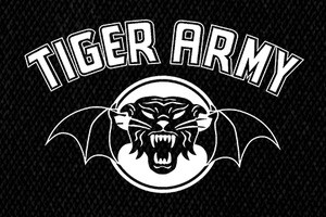 "Tiger Army - Logo 7x4"" Printed Patch"