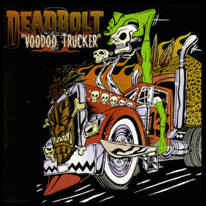 "Deadbolt - Voodoo Trucker 4x4"" Color Patch"