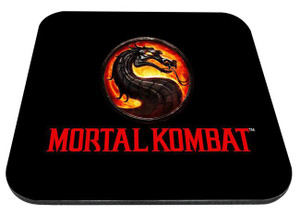 "Mortal Kombat Game Logo 9x7"" Mousepad"