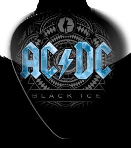 AC/DC - Black Ice Standard Guitar Pick
