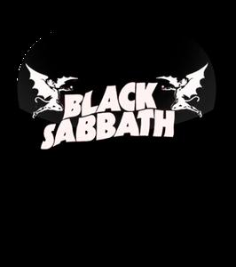 Black Sabbath Logo Standard Guitar Pick