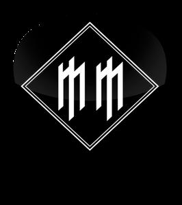Marilyn Manson Logo Standard Guitar Pick