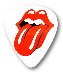 The Rolling Stones Tongue Logo Standard Guitar Pick