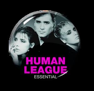 "Human League - Essential 1"" Pin"