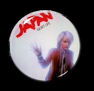 """Japan - Quiet Life 1"""" Pin"""