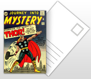 Journey Into Mystery Startinf the Mighty Thor Comic Cover Postal Card